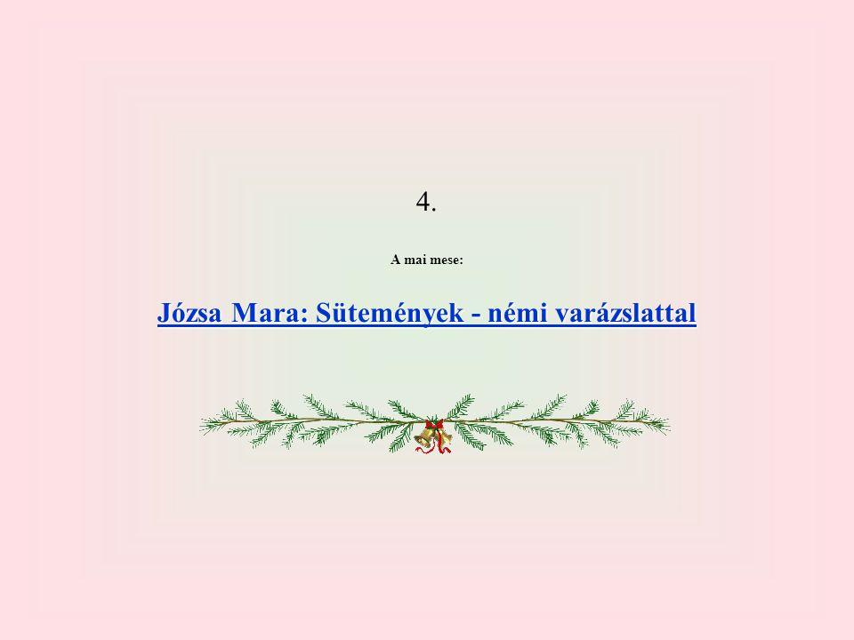 Józsa Mara: Sütemények - némi varázslattal