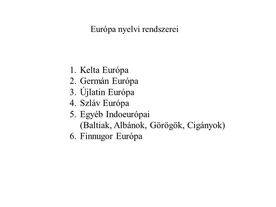 Európa nyelvi rendszerei