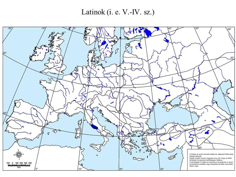 Latinok (i. e. V.-IV. sz.)