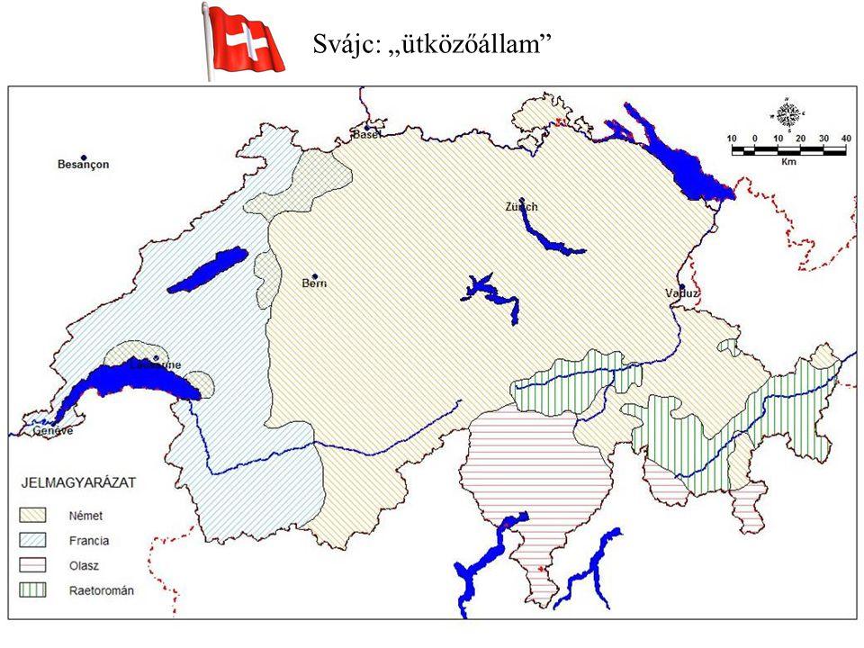 """Svájc: """"ütközőállam"""