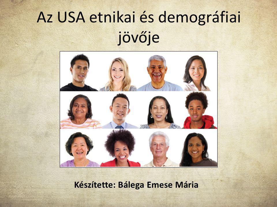 Az USA etnikai és demográfiai jövője