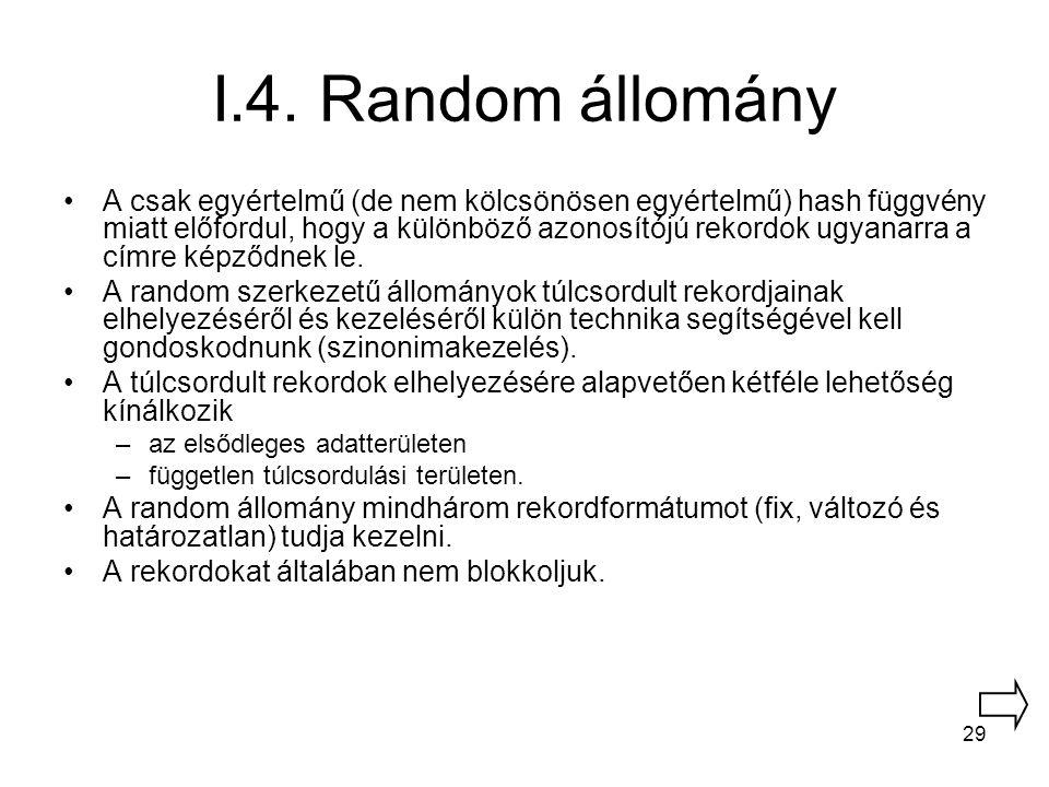 I.4. Random állomány
