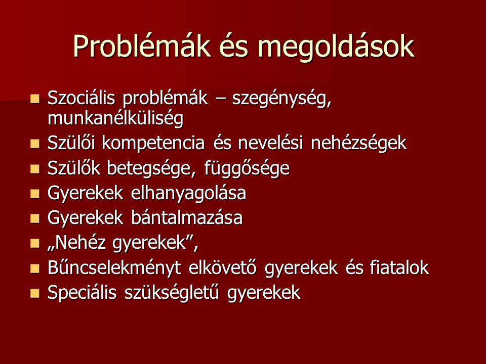 Problémák és megoldások