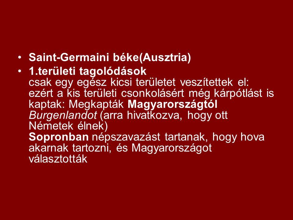 Saint-Germaini béke(Ausztria)