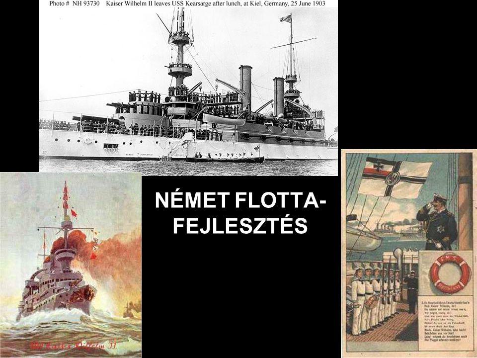 NÉMET FLOTTA- FEJLESZTÉS