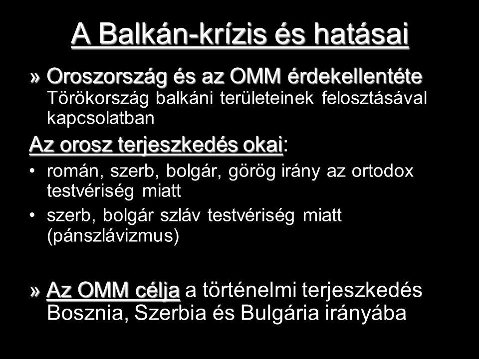 A Balkán-krízis és hatásai