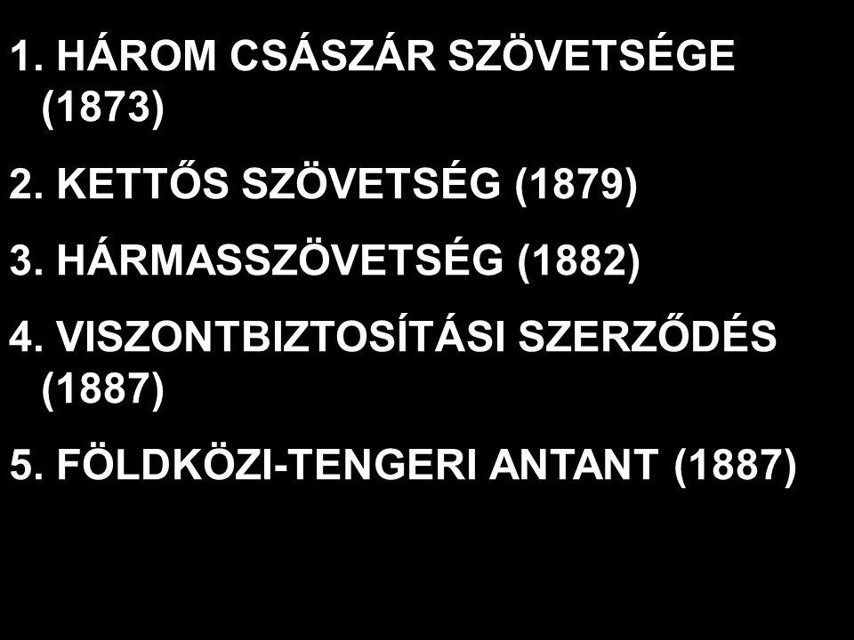 HÁROM CSÁSZÁR SZÖVETSÉGE (1873)