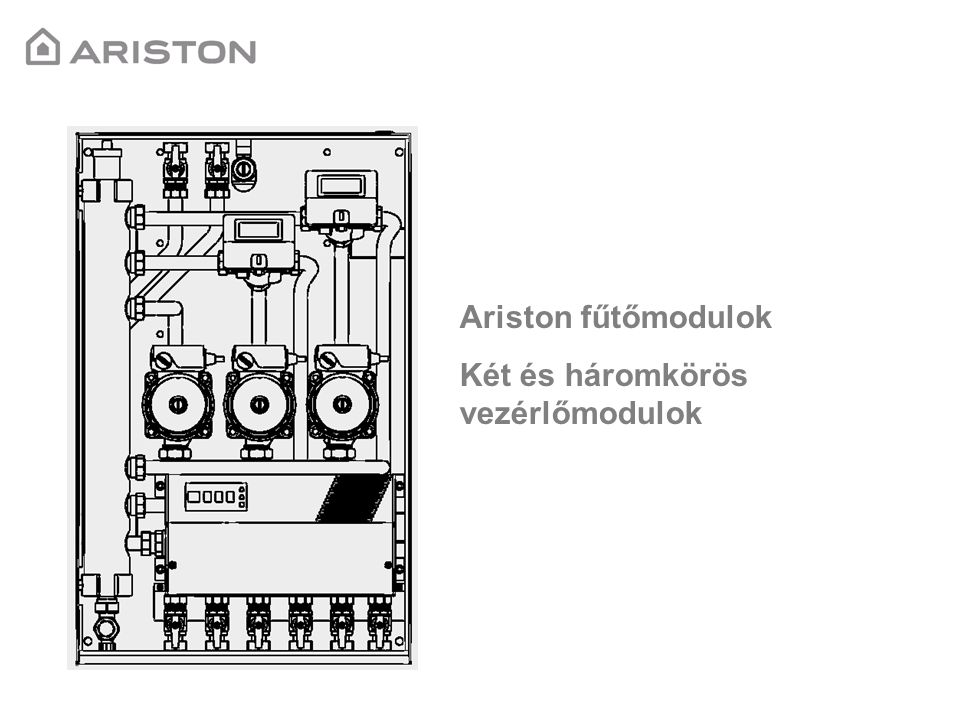 Ariston fűtőmodulok Két és háromkörös vezérlőmodulok