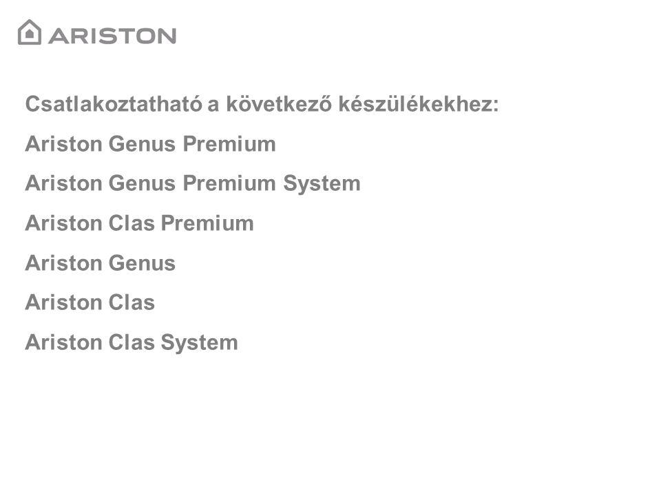 Csatlakoztatható a következő készülékekhez: