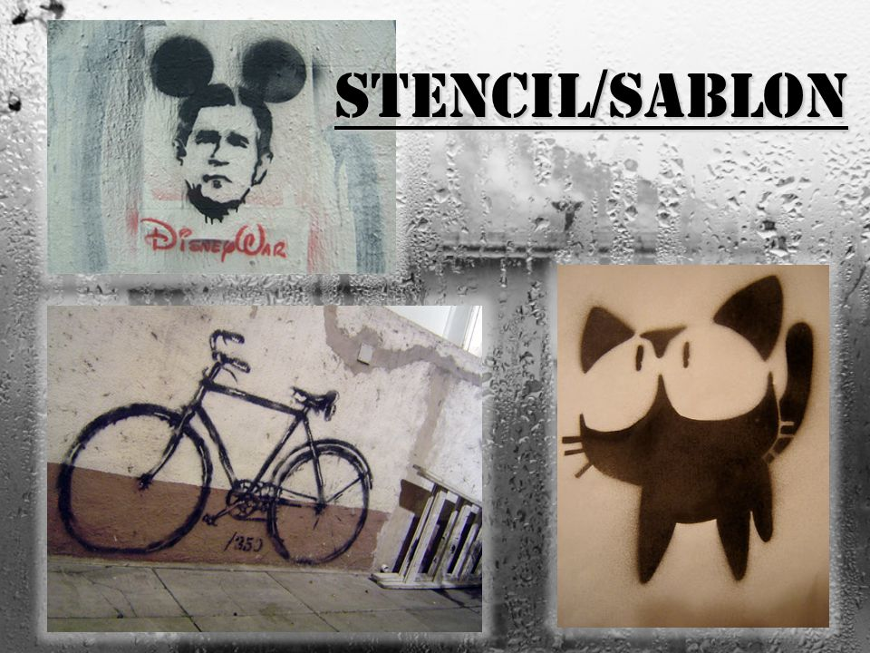 Stencil/sablon