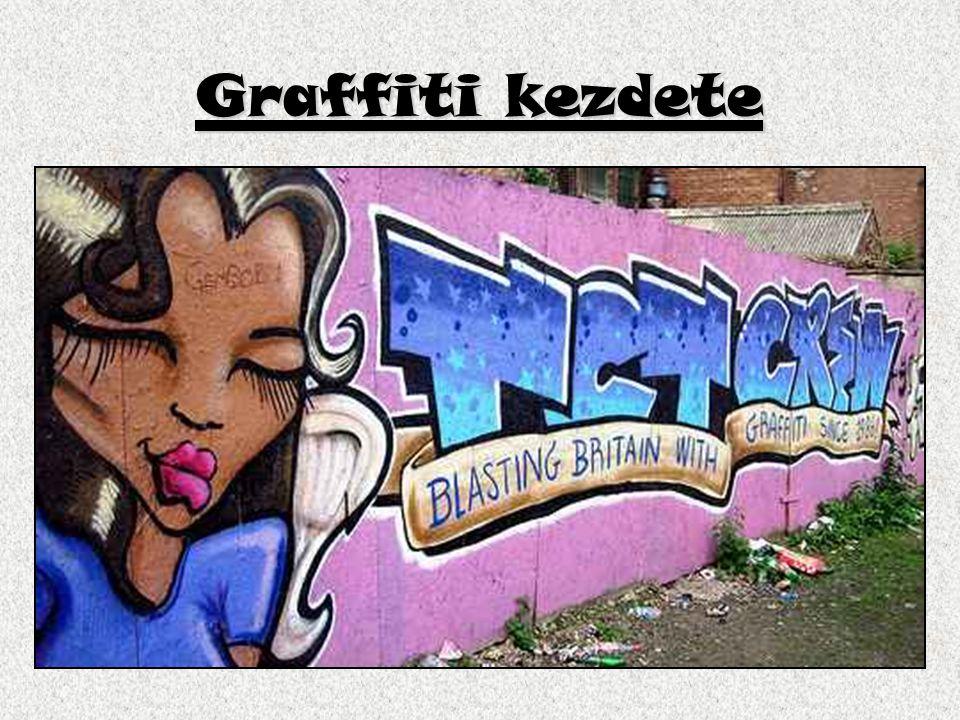 Graffiti kezdete