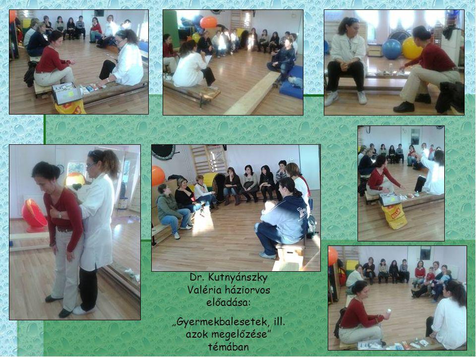 Dr. Kutnyánszky Valéria háziorvos előadása: