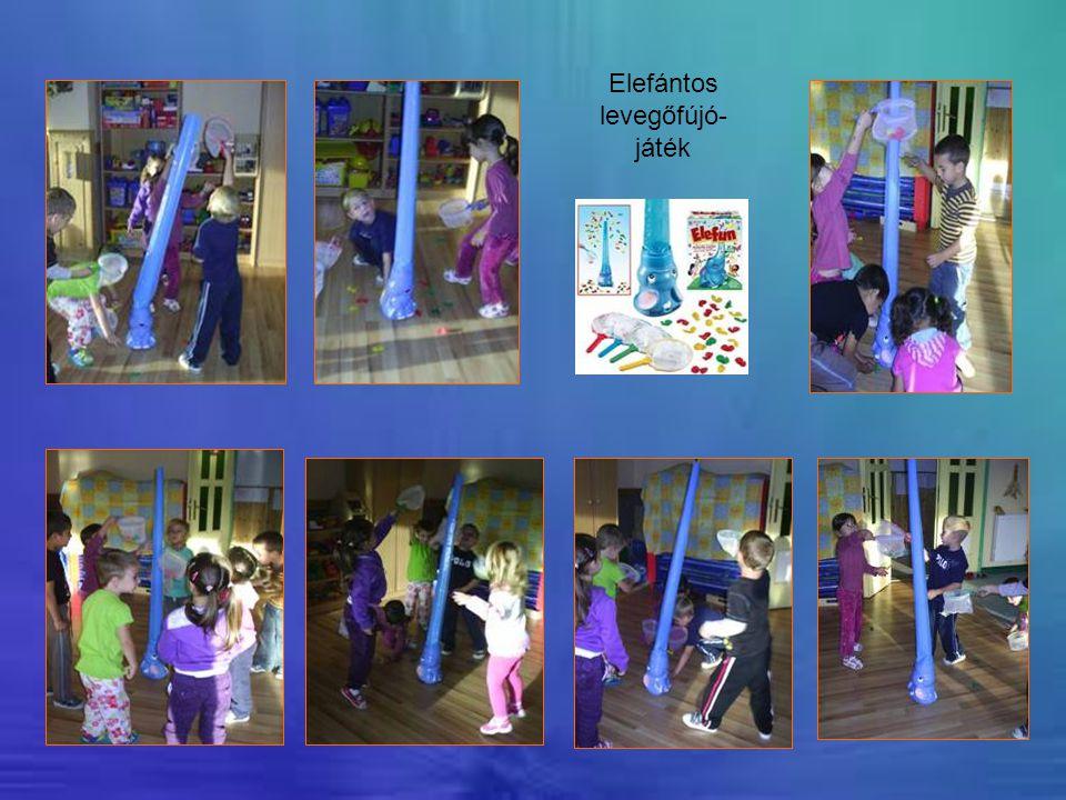 Elefántos levegőfújó-játék