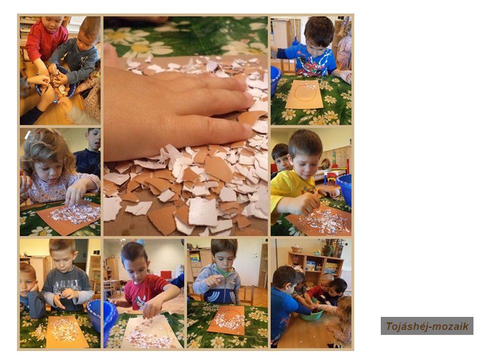 Tojáshéj-mozaik