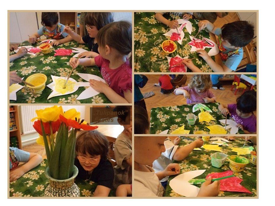 """""""Tulipánok Festés"""