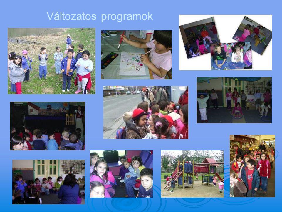 Változatos programok