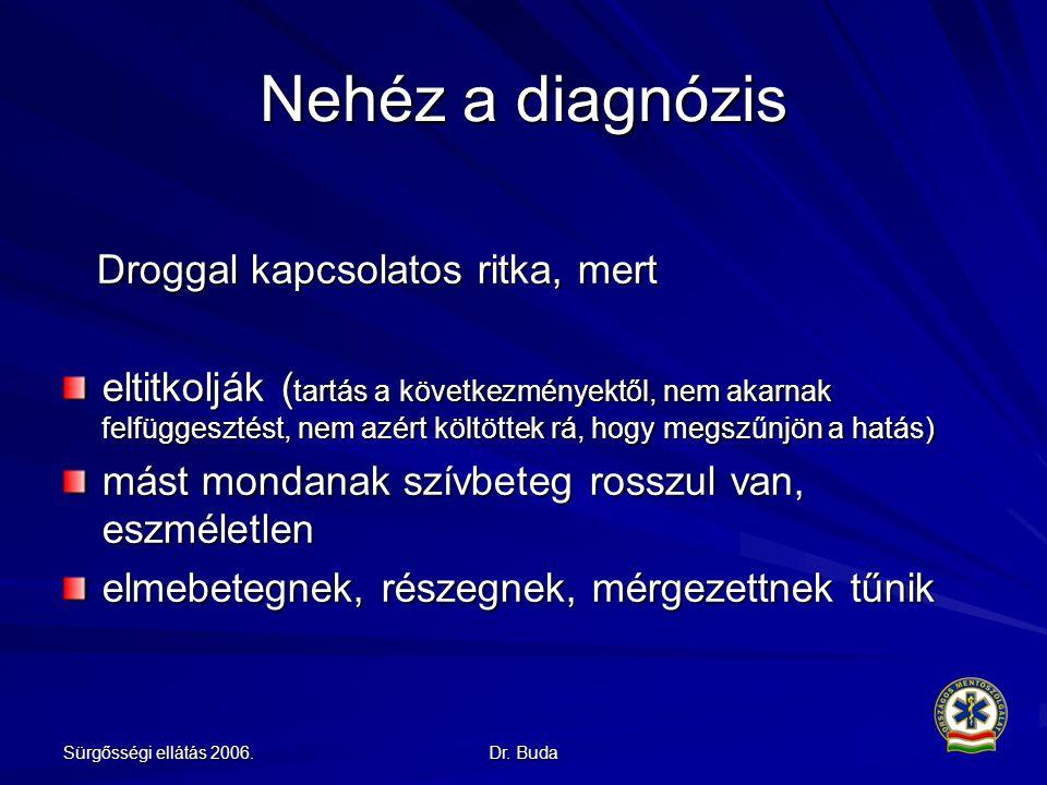 Nehéz a diagnózis Droggal kapcsolatos ritka, mert