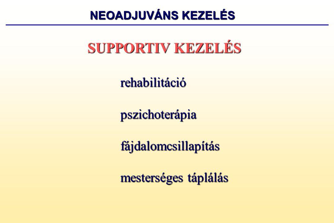 SUPPORTIV KEZELÉS pszichoterápia fájdalomcsillapítás