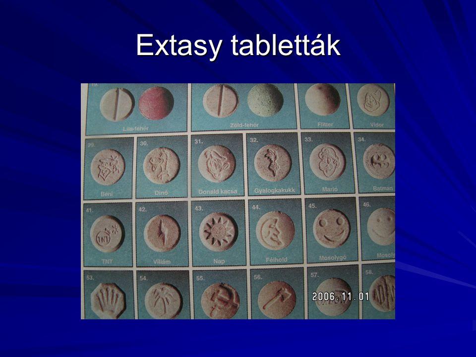Extasy tabletták