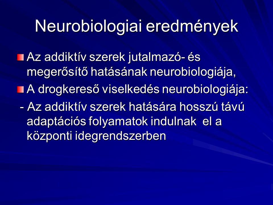 Neurobiologiai eredmények