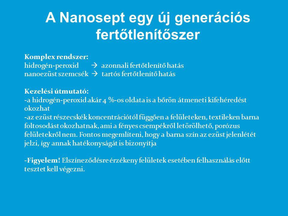 A Nanosept egy új generációs fertőtlenítőszer