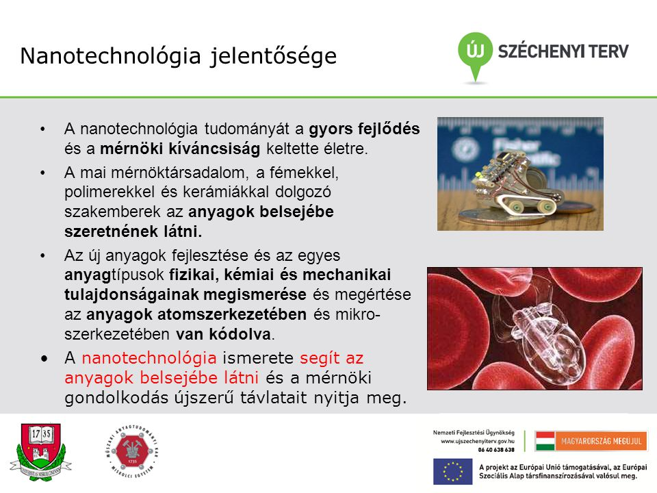 Nanotechnológia jelentősége