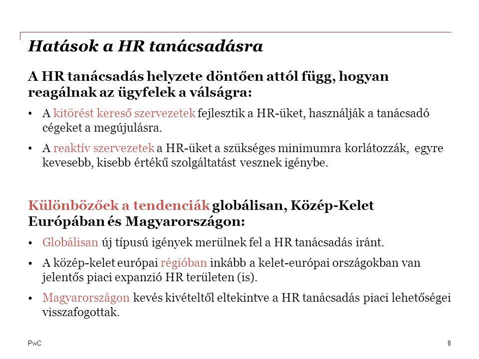 Hatások a HR tanácsadásra
