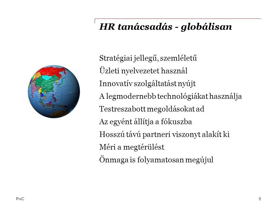 HR tanácsadás - globálisan