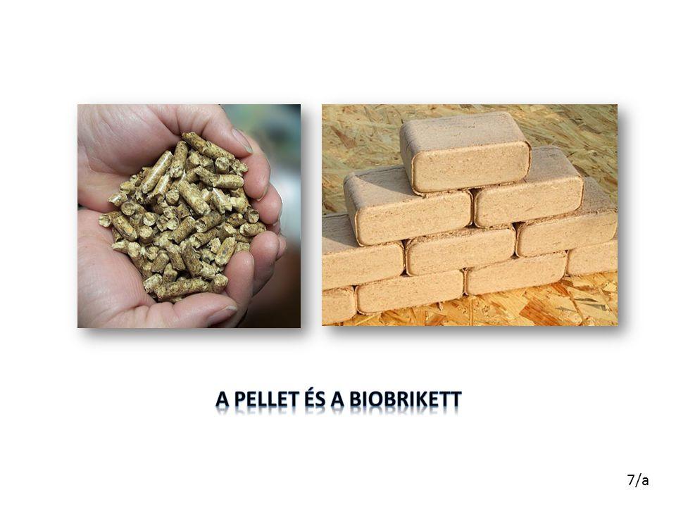 A pellet és a biobrikett