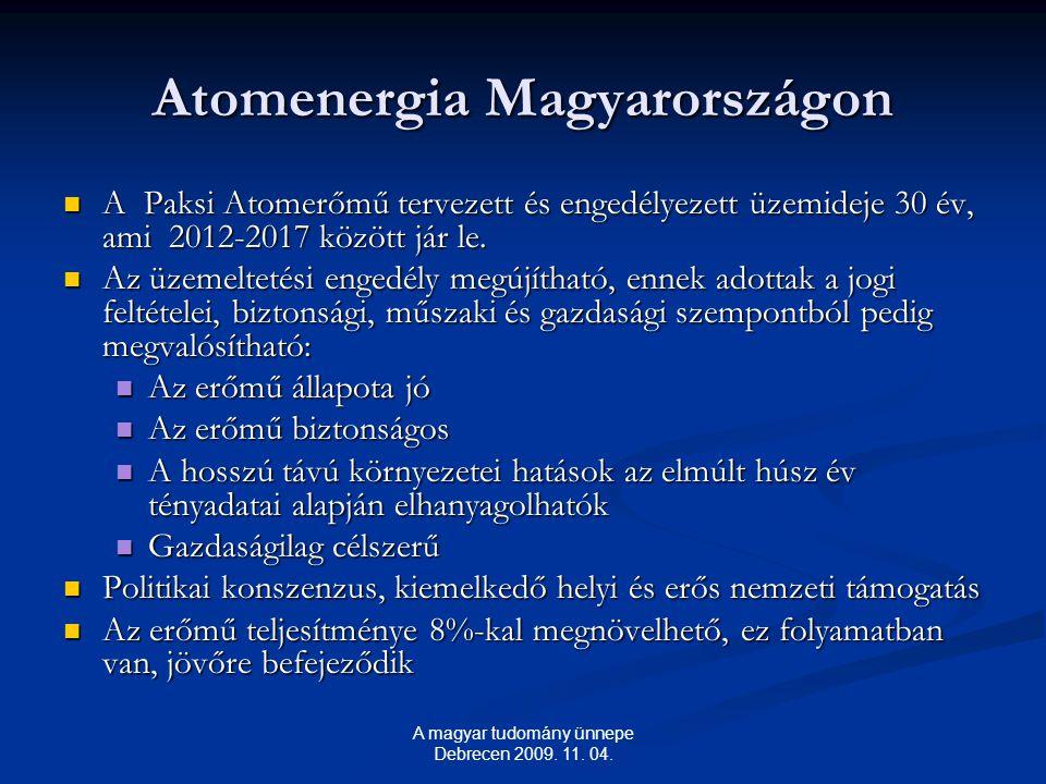 Atomenergia Magyarországon