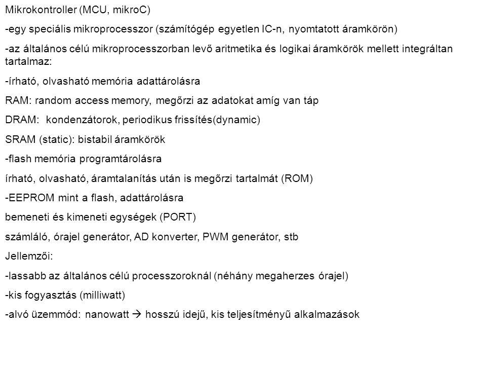 Mikrokontroller (MCU, mikroC)