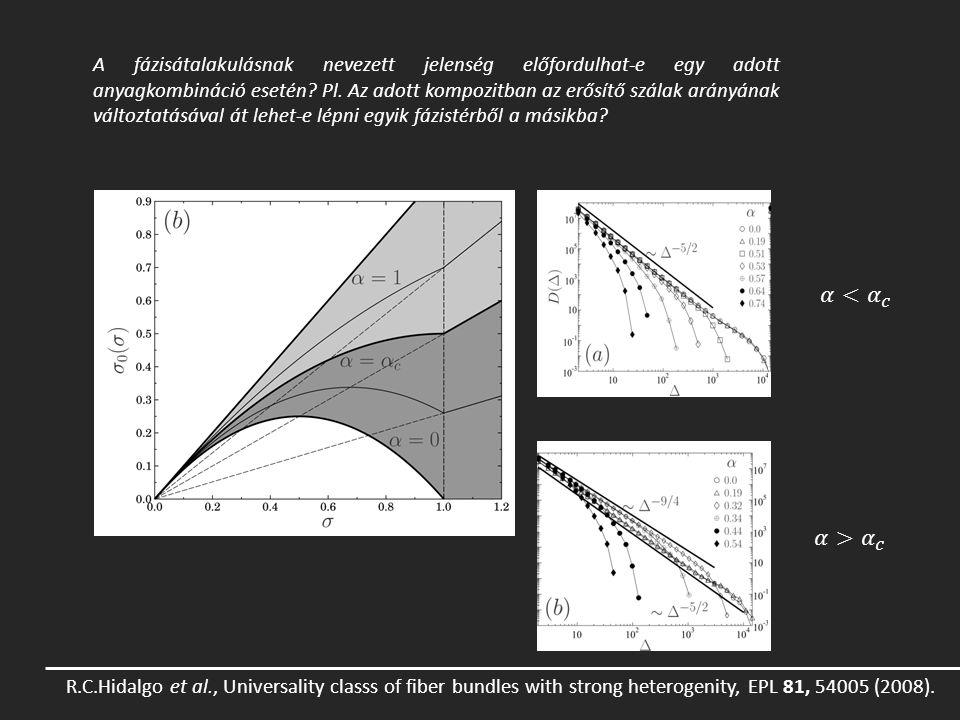 A fázisátalakulásnak nevezett jelenség előfordulhat-e egy adott anyagkombináció esetén Pl. Az adott kompozitban az erősítő szálak arányának változtatásával át lehet-e lépni egyik fázistérből a másikba