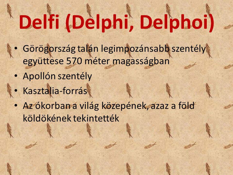 Delfi (Delphi, Delphoi)