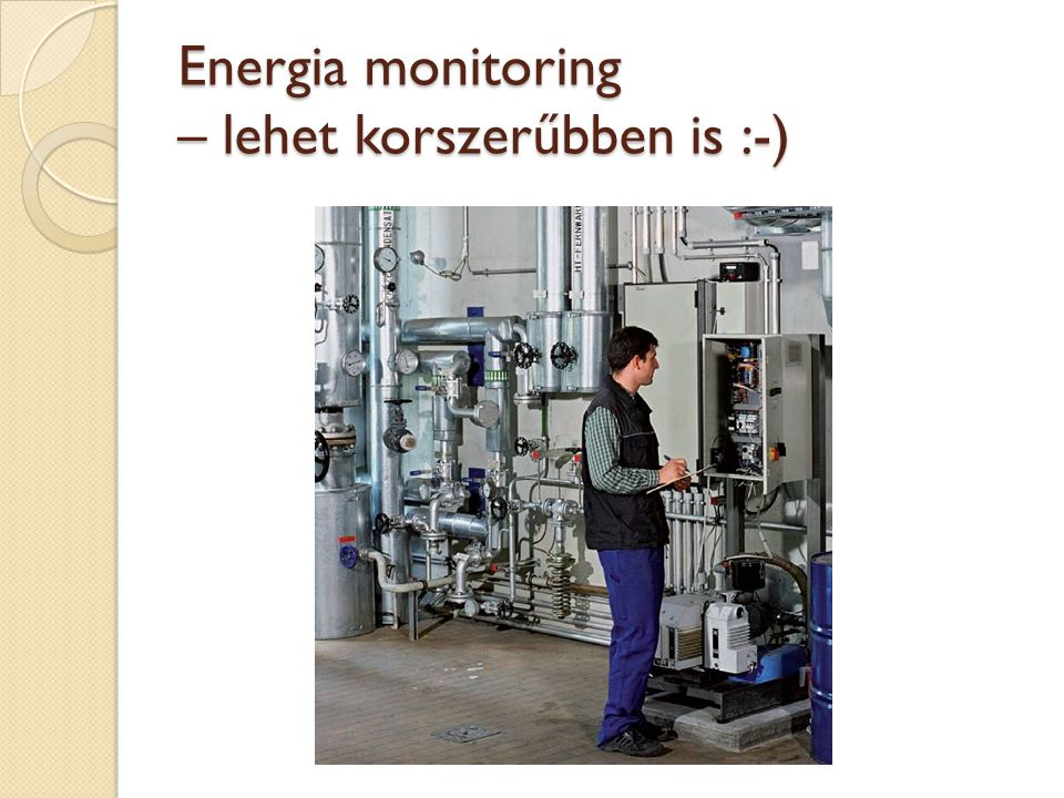 Energia monitoring – lehet korszerűbben is :-)
