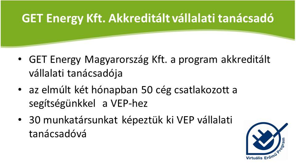 GET Energy Kft. Akkreditált vállalati tanácsadó