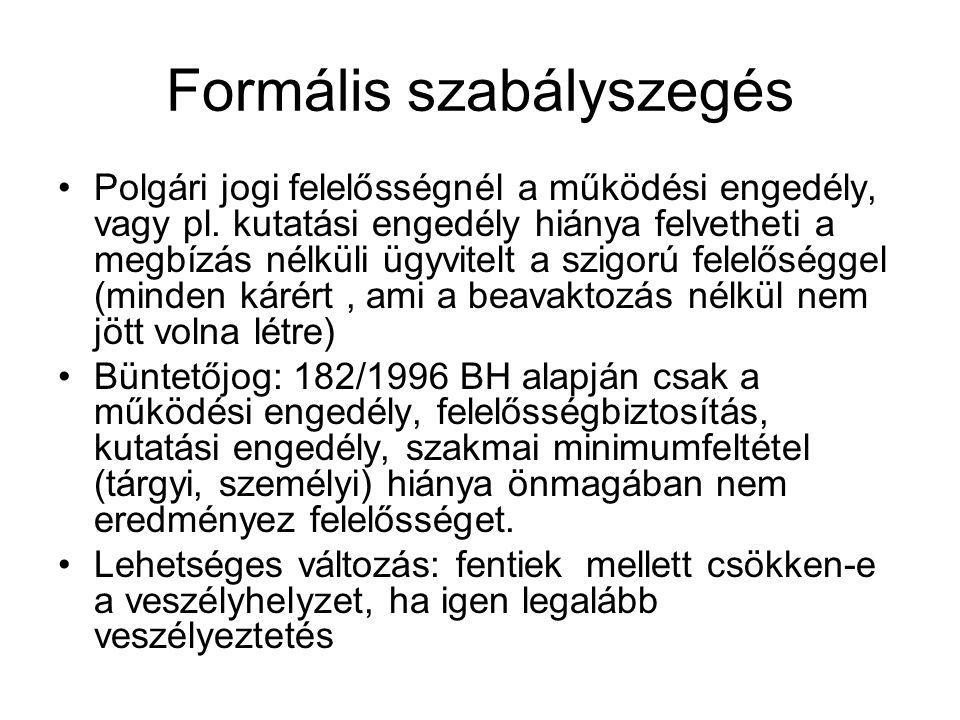 Formális szabályszegés