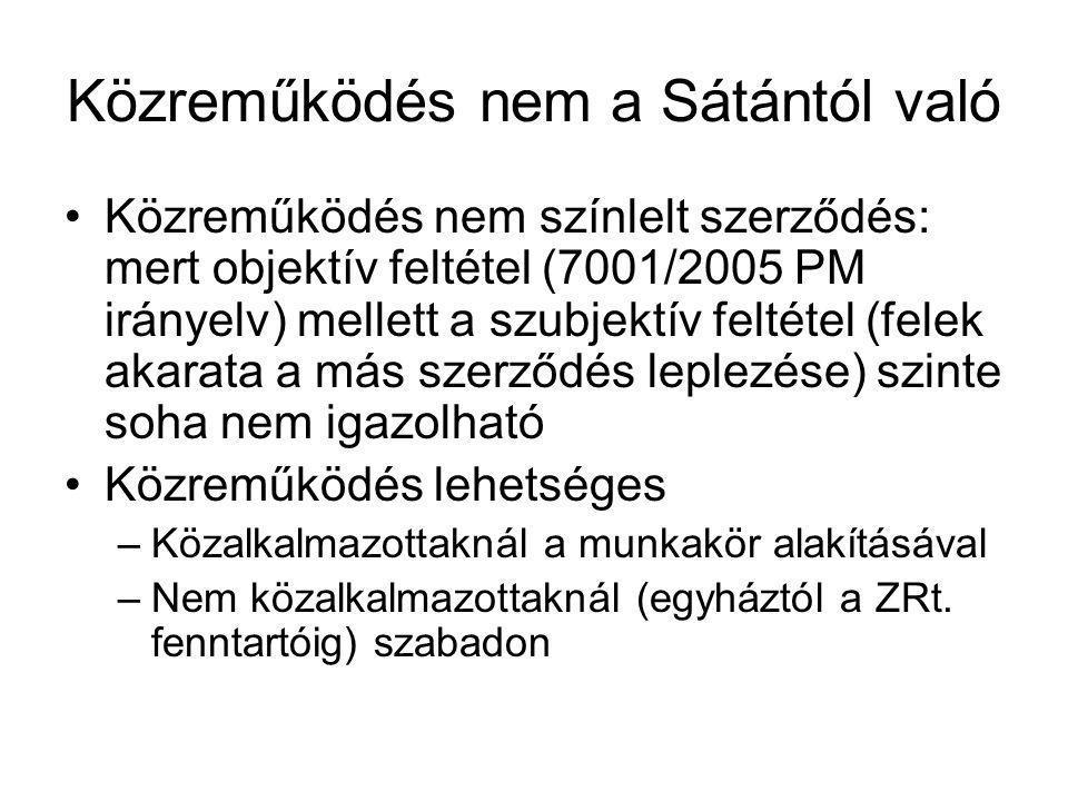 Közreműködés nem a Sátántól való