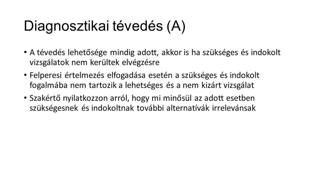 Diagnosztikai tévedés (A)
