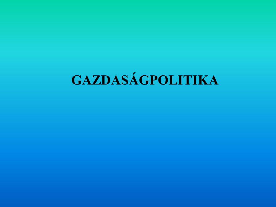 GAZDASÁGPOLITIKA