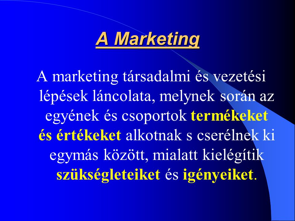 A Marketing