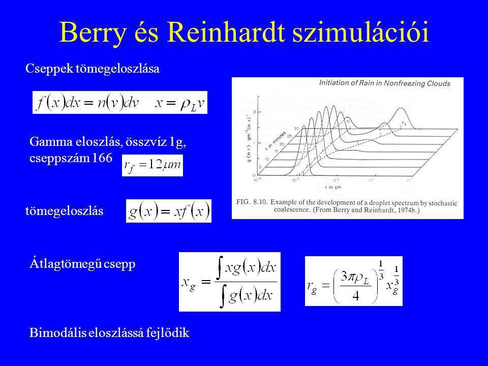 Berry és Reinhardt szimulációi