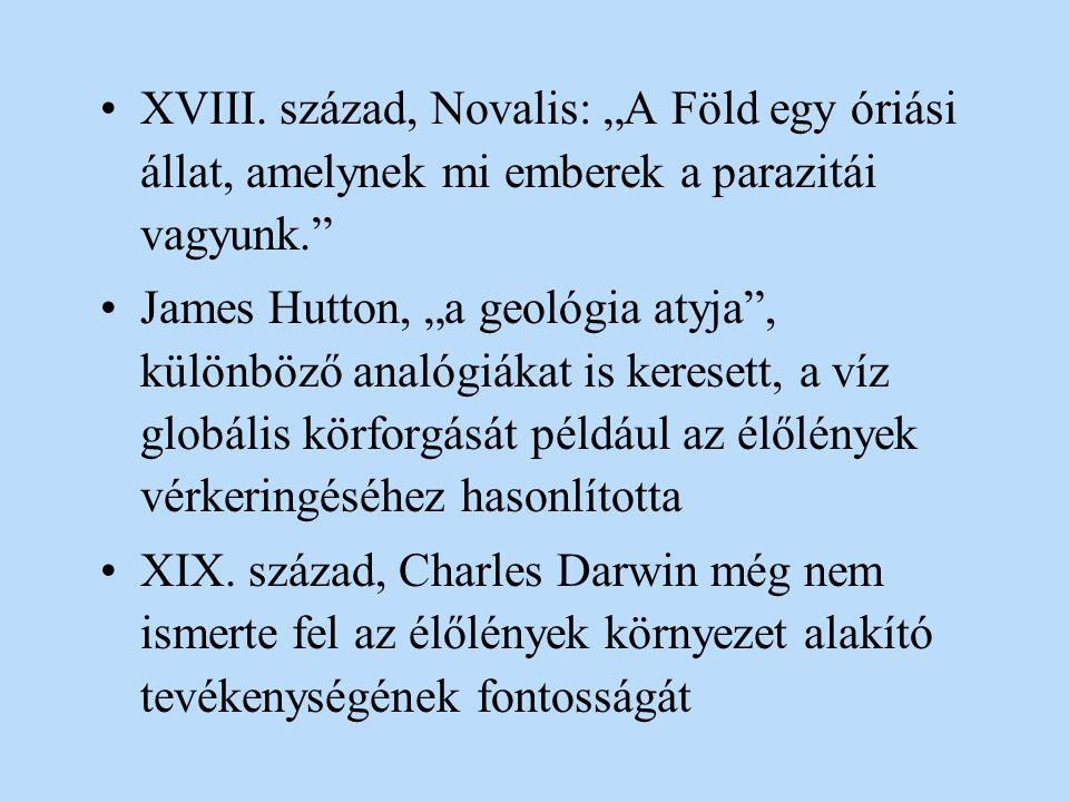 """XVIII. század, Novalis: """"A Föld egy óriási állat, amelynek mi emberek a parazitái vagyunk."""
