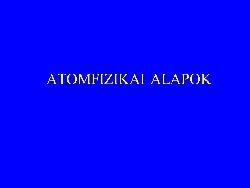 ATOMFIZIKAI ALAPOK