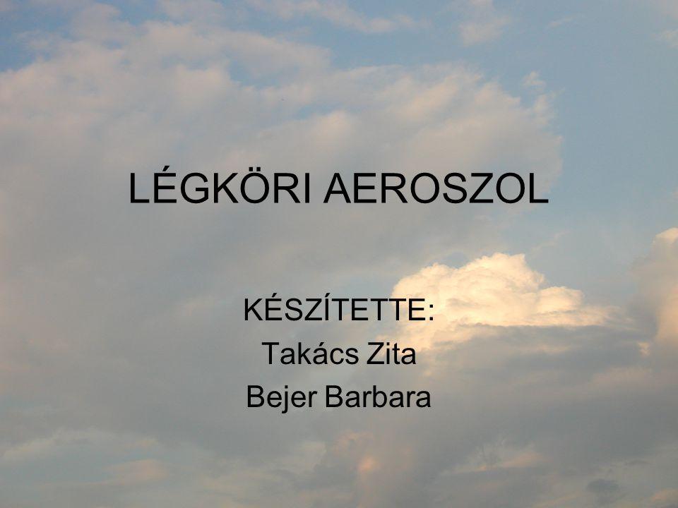 KÉSZÍTETTE: Takács Zita Bejer Barbara