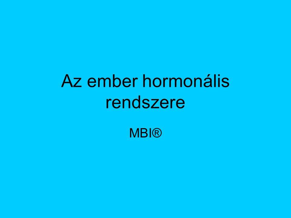 Az ember hormonális rendszere