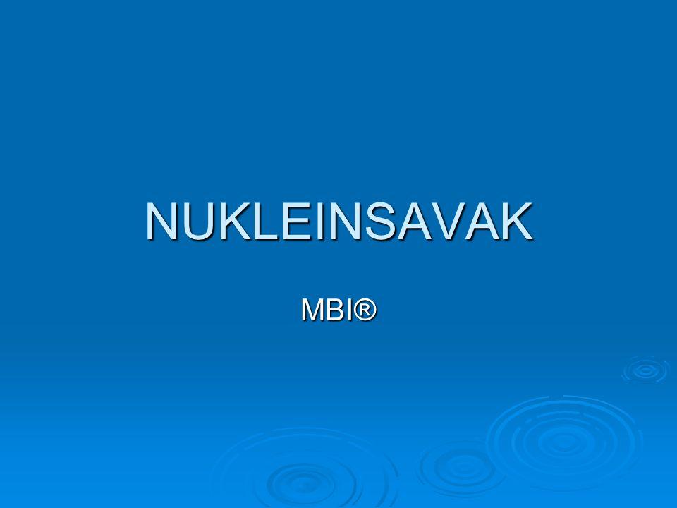 NUKLEINSAVAK MBI®