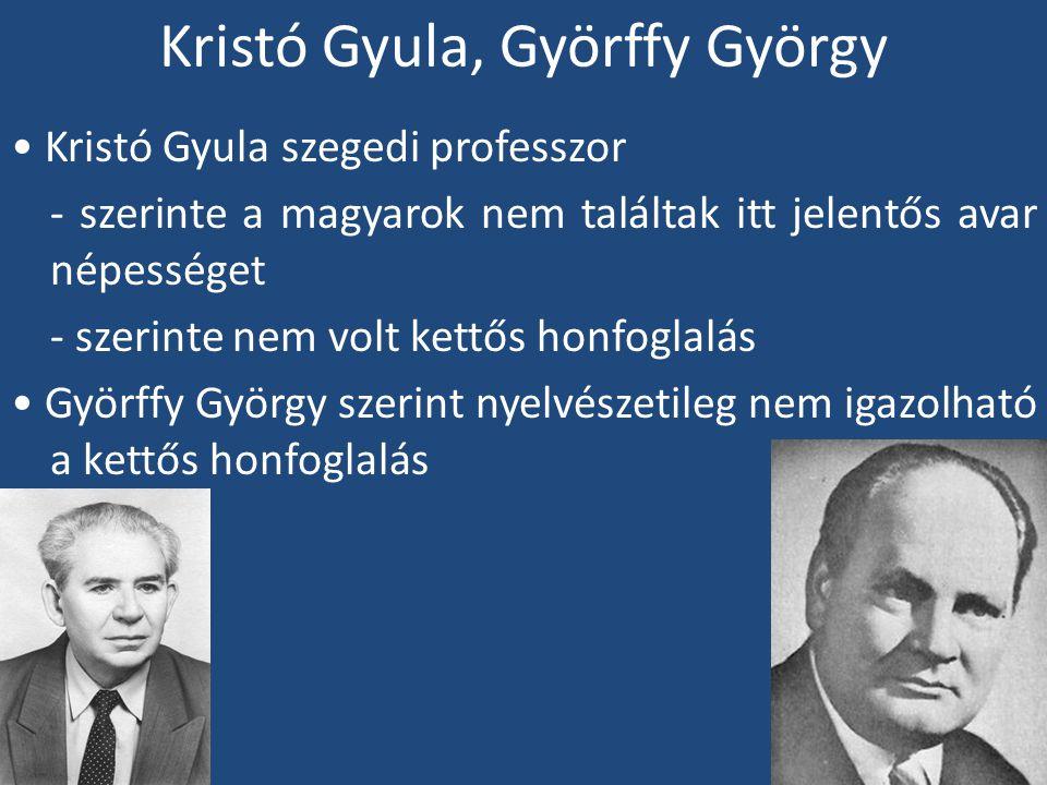 Kristó Gyula, Györffy György