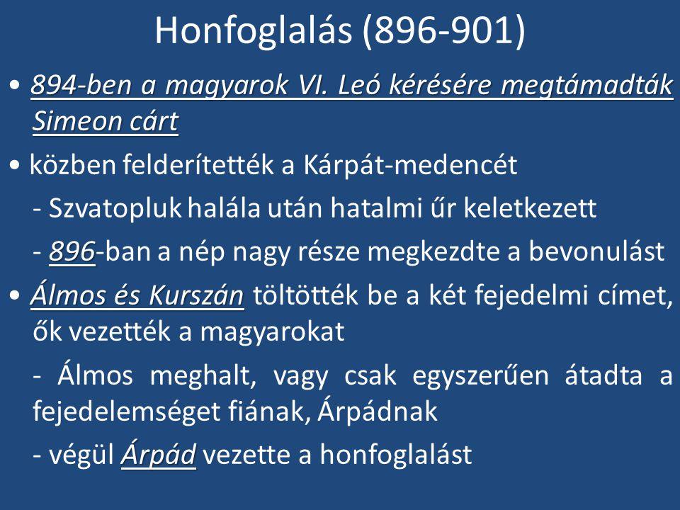 Honfoglalás (896-901)