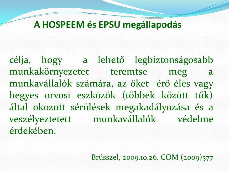 A HOSPEEM és EPSU megállapodás