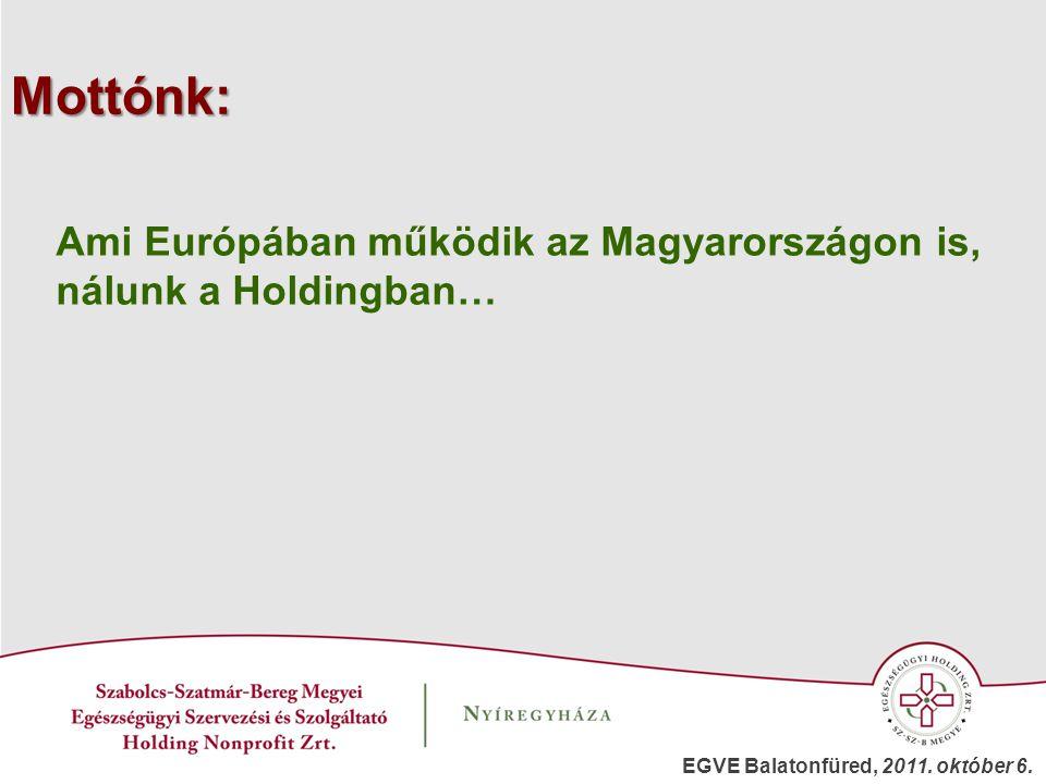 Mottónk: Ami Európában működik az Magyarországon is,